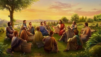 Jesus-and-His-followers